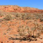 Boguty mountains Martian landscapes