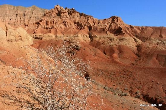 Boguty mountains, Kazakhstan view