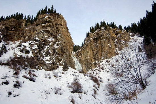 Butakovka valley, Kazakhstan view
