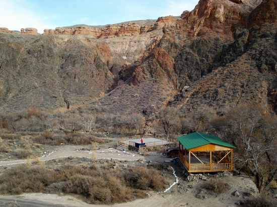 Charyn canyon, Kazakhstan view 3