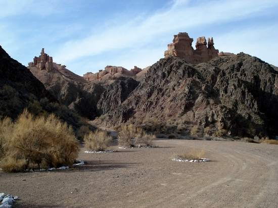 Charyn canyon, Kazakhstan view 4
