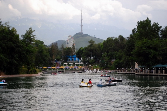 Almaty city, Kazakhstan Central park view 10