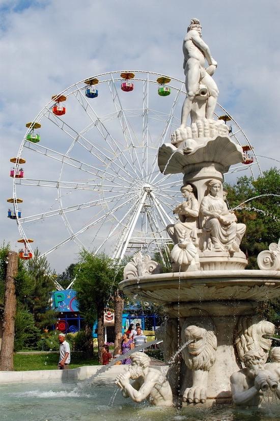 Almaty city, Kazakhstan Central park view 4