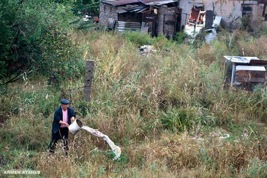 Almaty - Shymkent train travel views 13