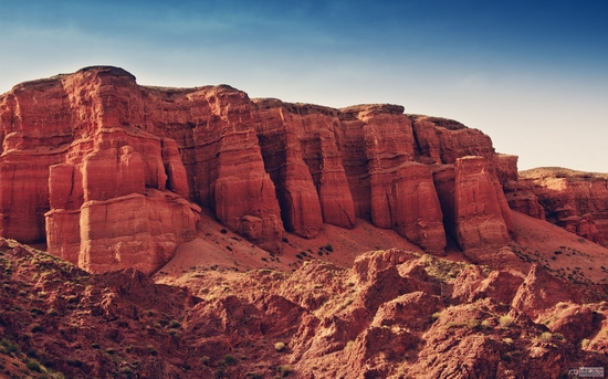 Charyn canyon, Kazakhstan wallpaper 2