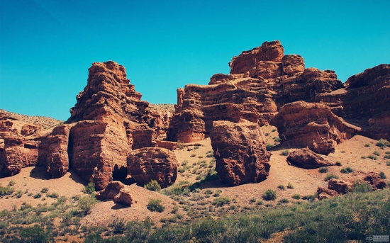 Charyn canyon, Kazakhstan wallpaper 4