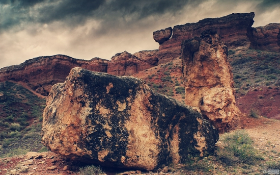 Charyn canyon, Kazakhstan wallpaper 6