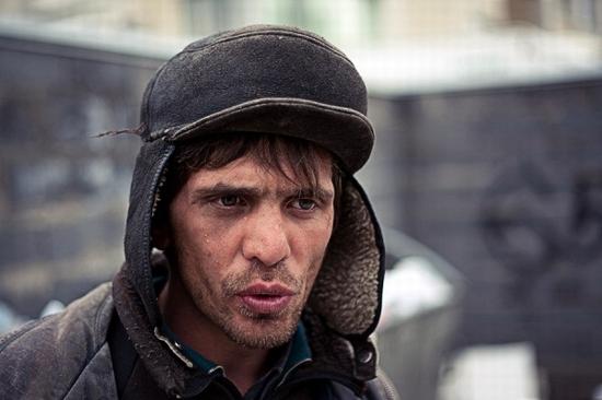Almaty city, Kazakhstan homeless persons photo 4
