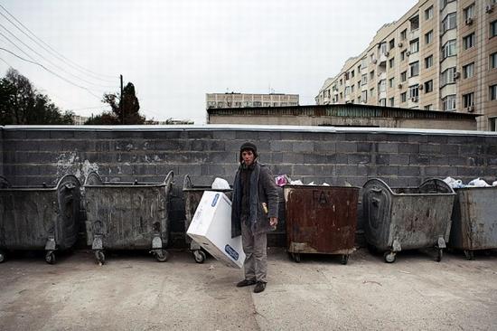 Almaty city, Kazakhstan homeless persons photo 5
