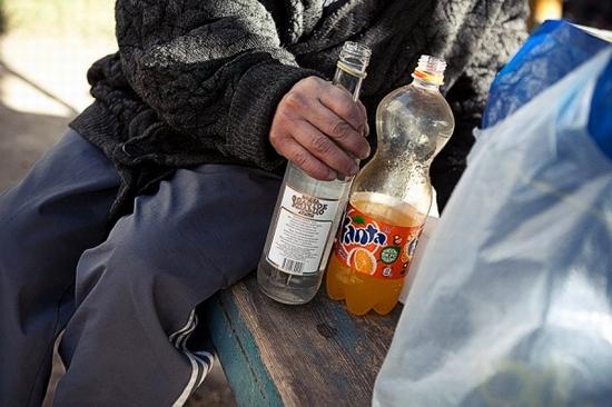 Almaty city, Kazakhstan homeless persons photo 9