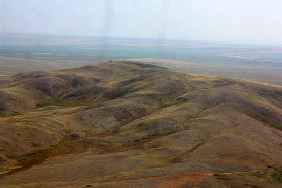 Akmola Kazakhstan  city images : The landscapes of Akmola oblast from aerial view · Kazakhstan travel ...
