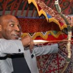 Mike Tyson visiting Kazakhstan