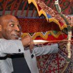 Mike Tyson visiting Kazakhstan