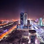 Beautiful bird's eye views of Astana city