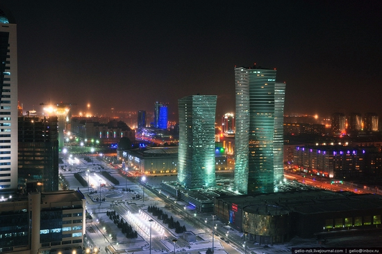 Astana city, Kazakhstan birds eye view 10