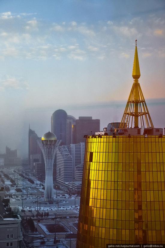 Astana city, Kazakhstan birds eye view 15