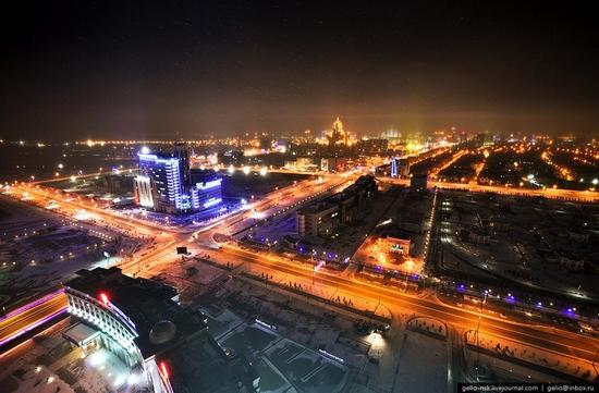 Astana city, Kazakhstan birds eye view 2