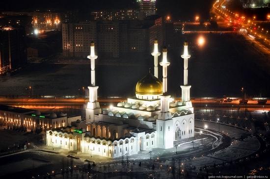 Astana city, Kazakhstan birds eye view 4