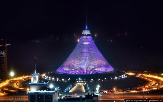 Astana city, Kazakhstan birds eye view 7