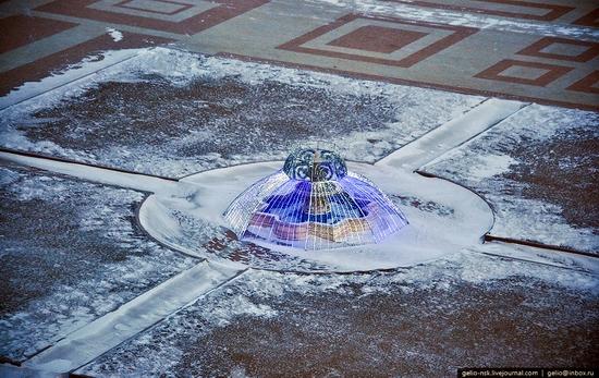 Astana city, Kazakhstan birds eye view 9