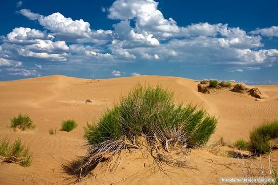 Kazakhstan desert view 1