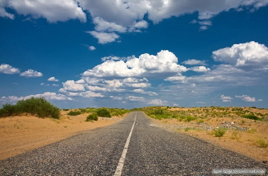 Kazakhstan desert view 12