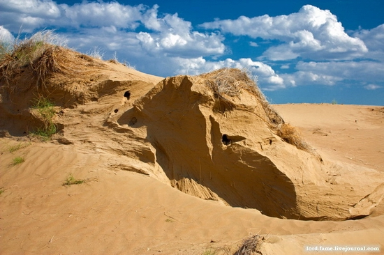 Kazakhstan desert view 3