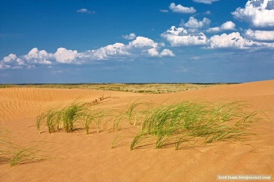 Kazakhstan desert view 4