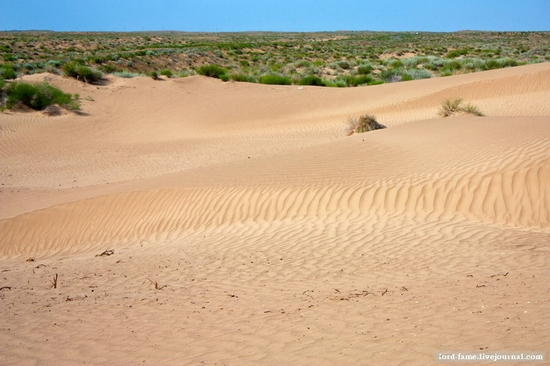 Kazakhstan desert view 5