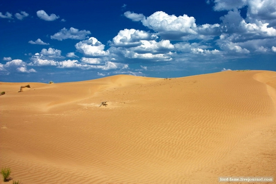 Kazakhstan desert view 7