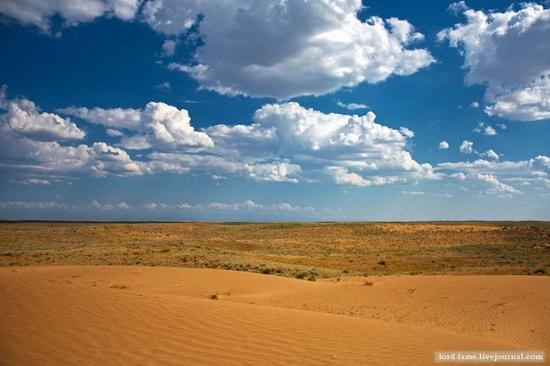 Kazakhstan desert view 8