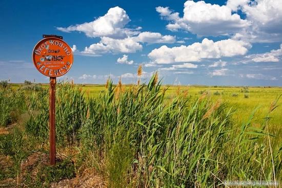 Kazakhstan steppe view 1
