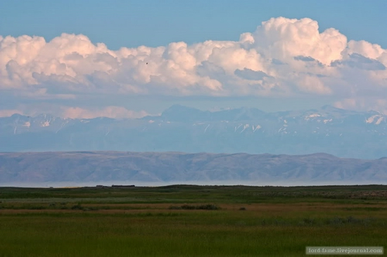 Kazakhstan steppe view 10