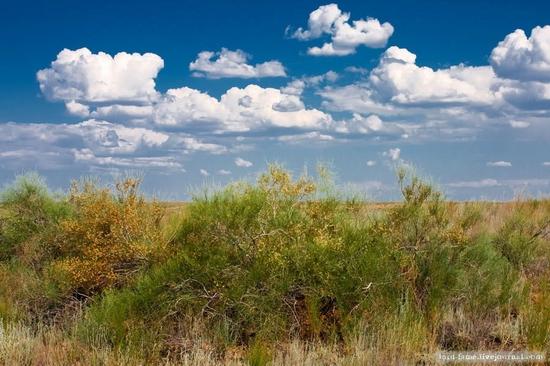 Kazakhstan steppe view 12