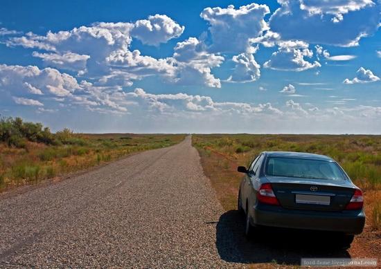 Kazakhstan steppe view 14