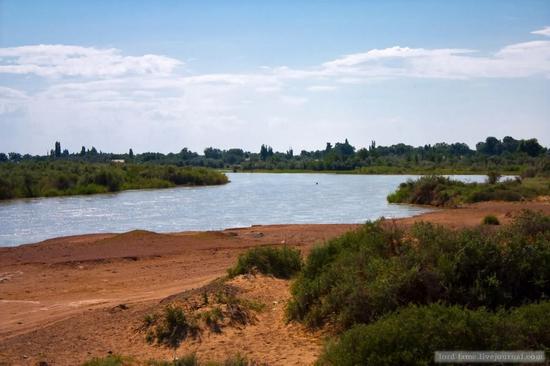 Kazakhstan steppe view 15