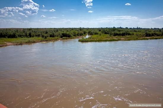 Kazakhstan steppe view 16