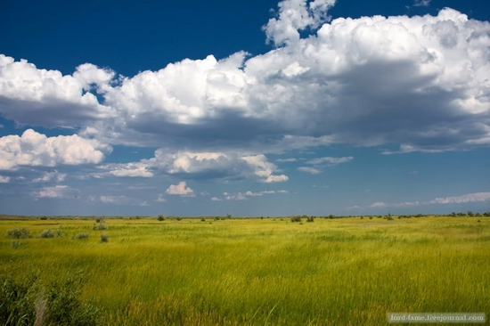 Kazakhstan steppe view 3