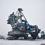 "Open-cast coal mine ""Bogatyr"" views"