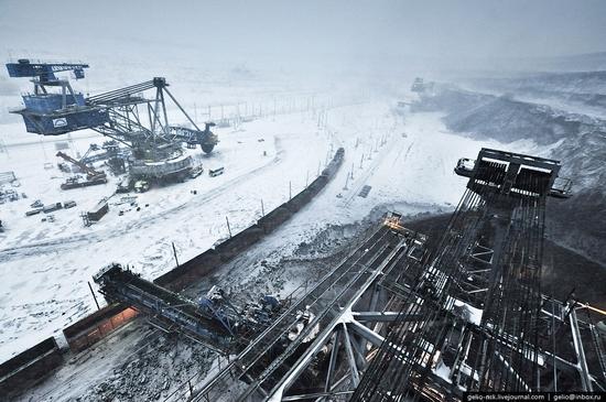Ekibastuz coal mine, Kazakhstan view 2