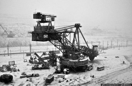 Ekibastuz coal mine, Kazakhstan view 4