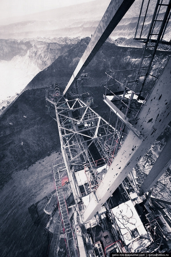 Ekibastuz coal mine, Kazakhstan view 6