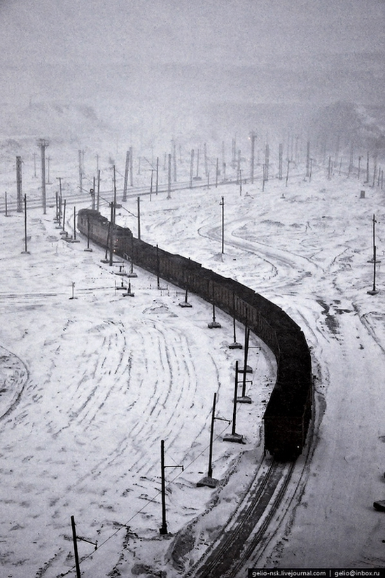 Ekibastuz coal mine, Kazakhstan view 7