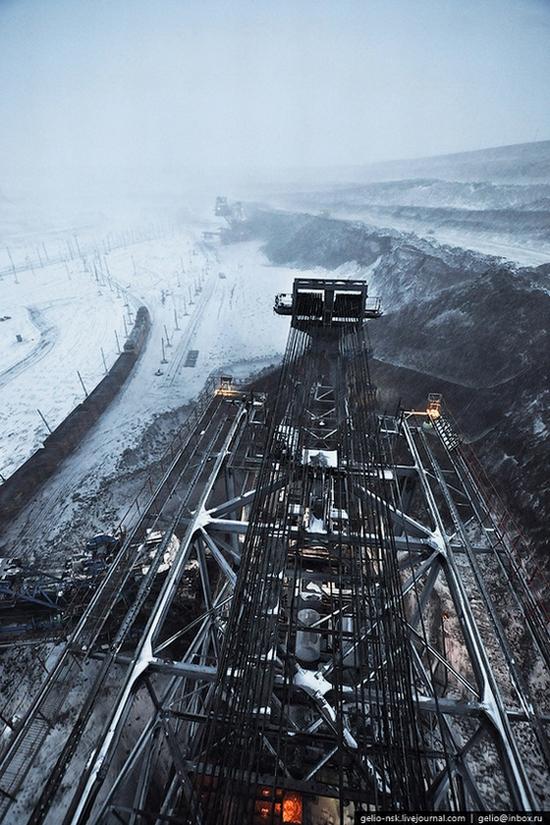 Ekibastuz coal mine, Kazakhstan view 8