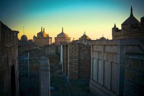 Necropolis Koshkar-Ata, Mangystau oblast, Kazakhstan view 14