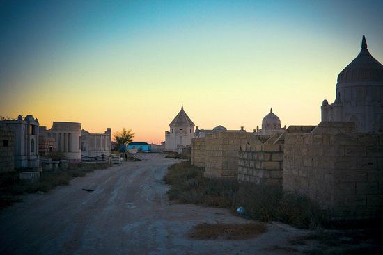 Necropolis Koshkar-Ata, Mangystau oblast, Kazakhstan view 8