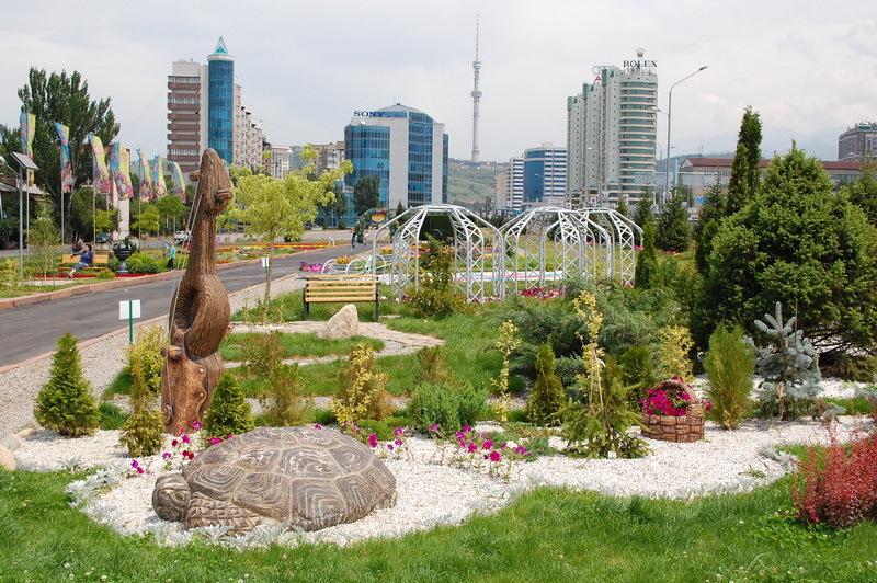 Al-Faraby avenue, Almaty, Kazakhstan view 4
