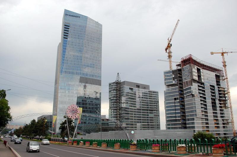 Al-Faraby avenue, Almaty, Kazakhstan view 5