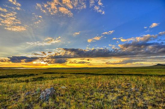 Karaganda oblast, Kazakhstan scenery 2