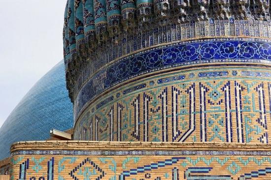 Khodzha Akhmed Yasavi mausoleum, Turkestan, Kazakhstan view 2